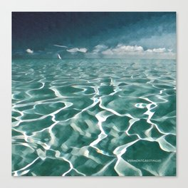 Sailing Ocean Blues Canvas Print