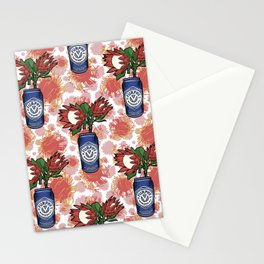 Furphy - Australian Beer with Florals - Protea Stationery Cards