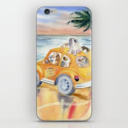 Dogs On Vacation iPhone Skin