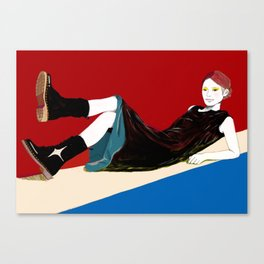 sae-red Canvas Print