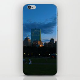 Boston Common Sunset iPhone Skin