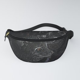 Neon Arctic Foxes Fanny Pack
