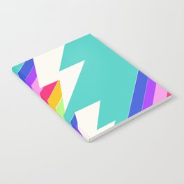 Electric Rainbow Notebook