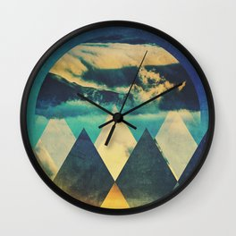 Fractions B11 Wall Clock