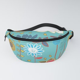 Happy Flowers Collection Fanny Pack