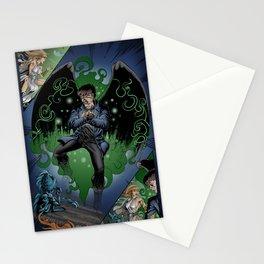 Moth-Man's Teleportation Stationery Cards