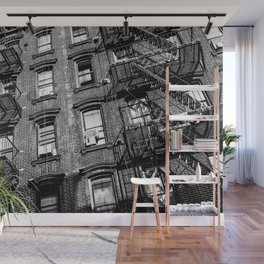 Manhattan Ladders Wall Mural