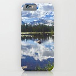 Indian Peaks Wilderness above Boulder, Colorado iPhone Case