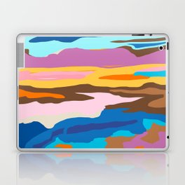 Shape and Layers no.19 - Abstract Modern Landscape Laptop & iPad Skin