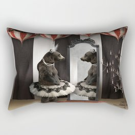Midnight Reverie Rectangular Pillow