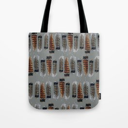 Grouse Feathers Tote Bag