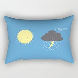 I miss you! Rectangular Pillow