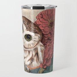 Morning Tea Owl Travel Mug