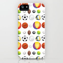 Sport Balls iPhone Case