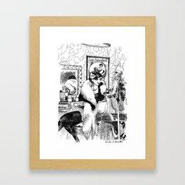 Lulu Bazooka Framed Art Print