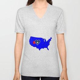 State of Utah Unisex V-Neck