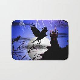 Raven's Haunted Castle Bath Mat