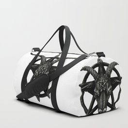 Baphomet Satanic Church Goat Head Duffle Bag