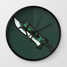Blade of Exile Wall Clock