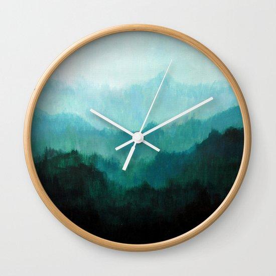 Mists No. 2 Wall Clock