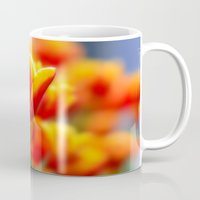tulip Mugs featuring Tulip by Tracie Brown