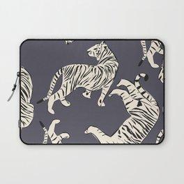 White tiger pattern 002 Laptop Sleeve