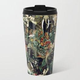 Elephants Camouflage Travel Mug