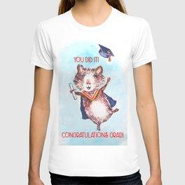 Guinea Pig Graduation T-shirt