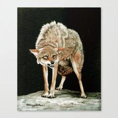 Attitude painting Canvas Print
