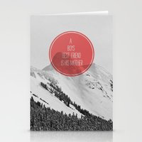 best friend Stationery Cards featuring best friend by Jesse Robinson Williams