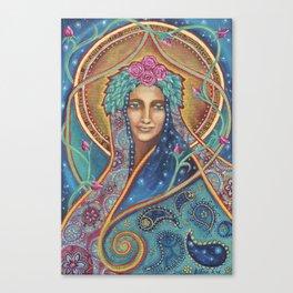 Shakti Creates by Justine Aldersey-Williams Canvas Print