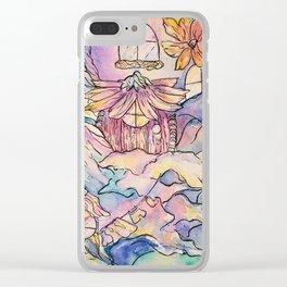 Fairy House Clear iPhone Case