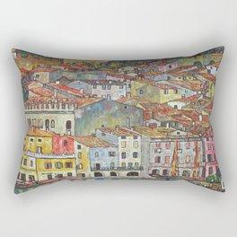 Gustav Klimt Malcesine On Lake Garda Rectangular Pillow