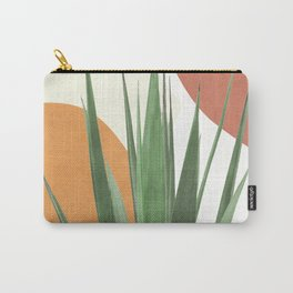 Abstract Agave Plant Carry-All Pouch