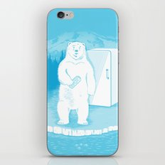 Save the polar bears, make more ice cubes. iPhone & iPod Skin