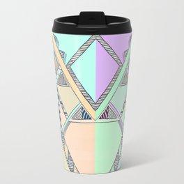 Aztec print illustration Travel Mug