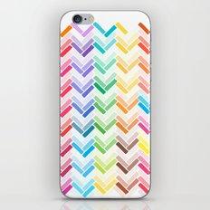 Colourful pattern iPhone & iPod Skin