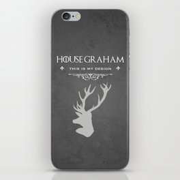 House Graham iPhone Skin