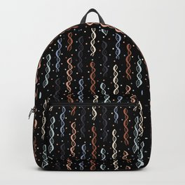Party DNA on Black Backpack