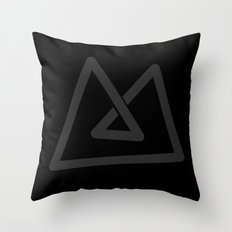 M like M Throw Pillow