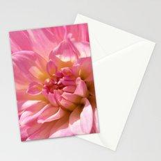 PINK DAHLIA CROWN IX Stationery Cards
