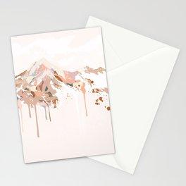 Mocha mountain Stationery Cards