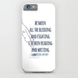 READING AND WRITING | HAMILTON iPhone Case