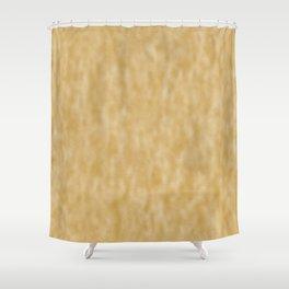 Mottled Vintage Gold Foil Shower Curtain