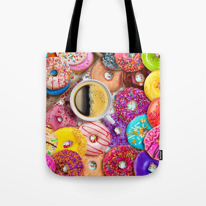 Donuts & Coffee Tote Bag