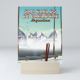 San Carlos de Bariloche Mini Art Print