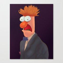 Mister Beaker Canvas Print