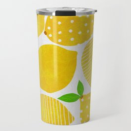 Lemon Crowd Travel Mug