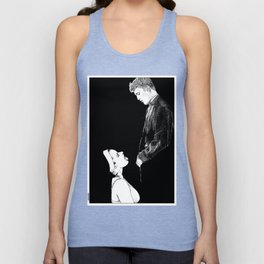 asc 274 - La possession de Marie Magdala (The possession of Mary Magdalene) Unisex Tank Top