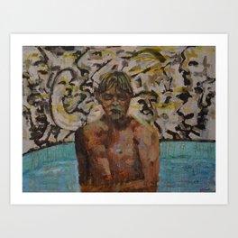 The Young Jeffrey Dahmer Art Print